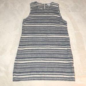 Kenar Linen Sheath Dress